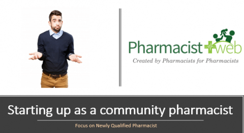 Starting up as a community pharmacist